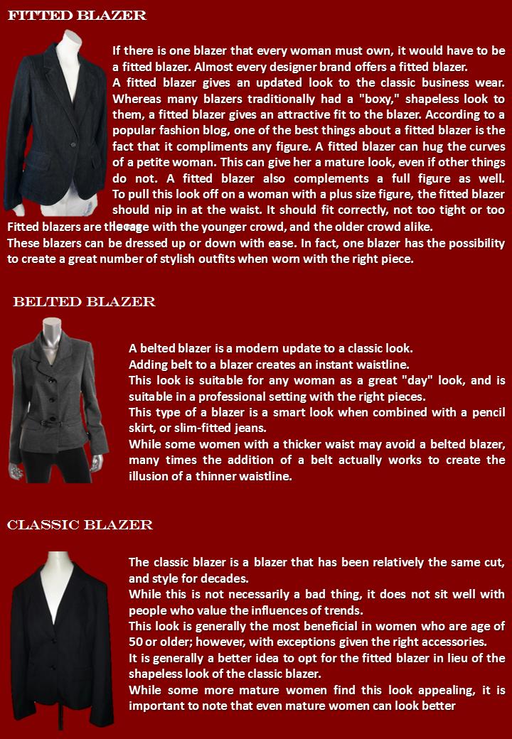 Blazers & Style