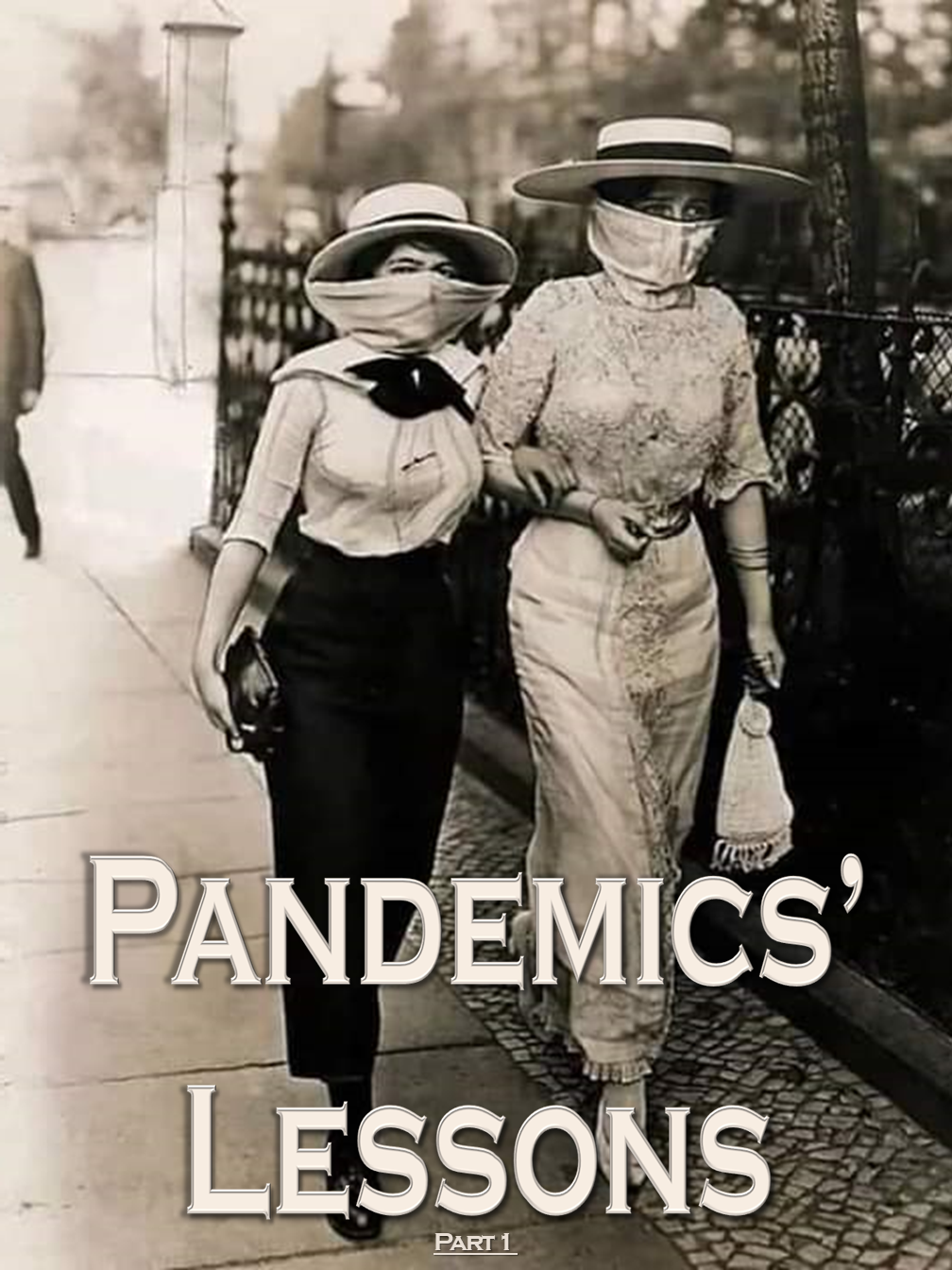 Pandemics' Lessons (Part 1)