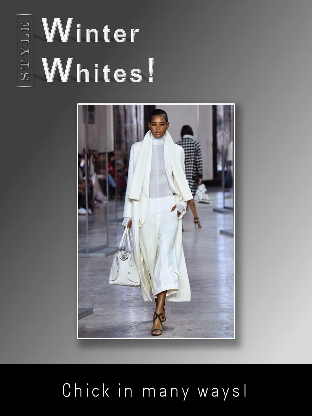 Winter Whites!