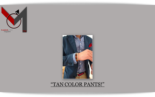 Tan Color Pants