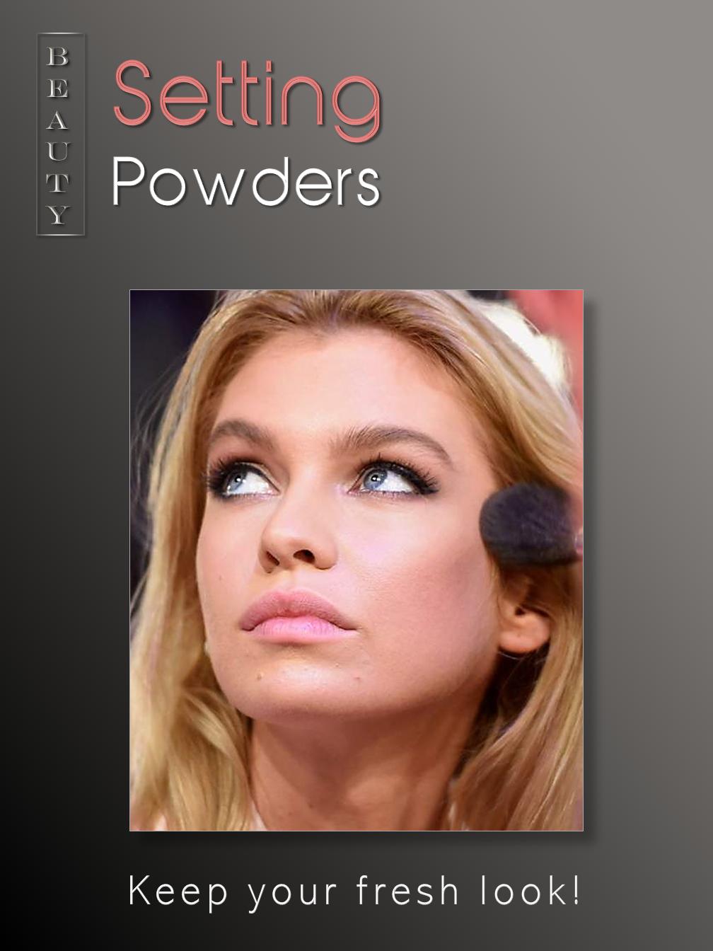 Setting Powders