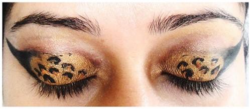 Leopard Eye Look: