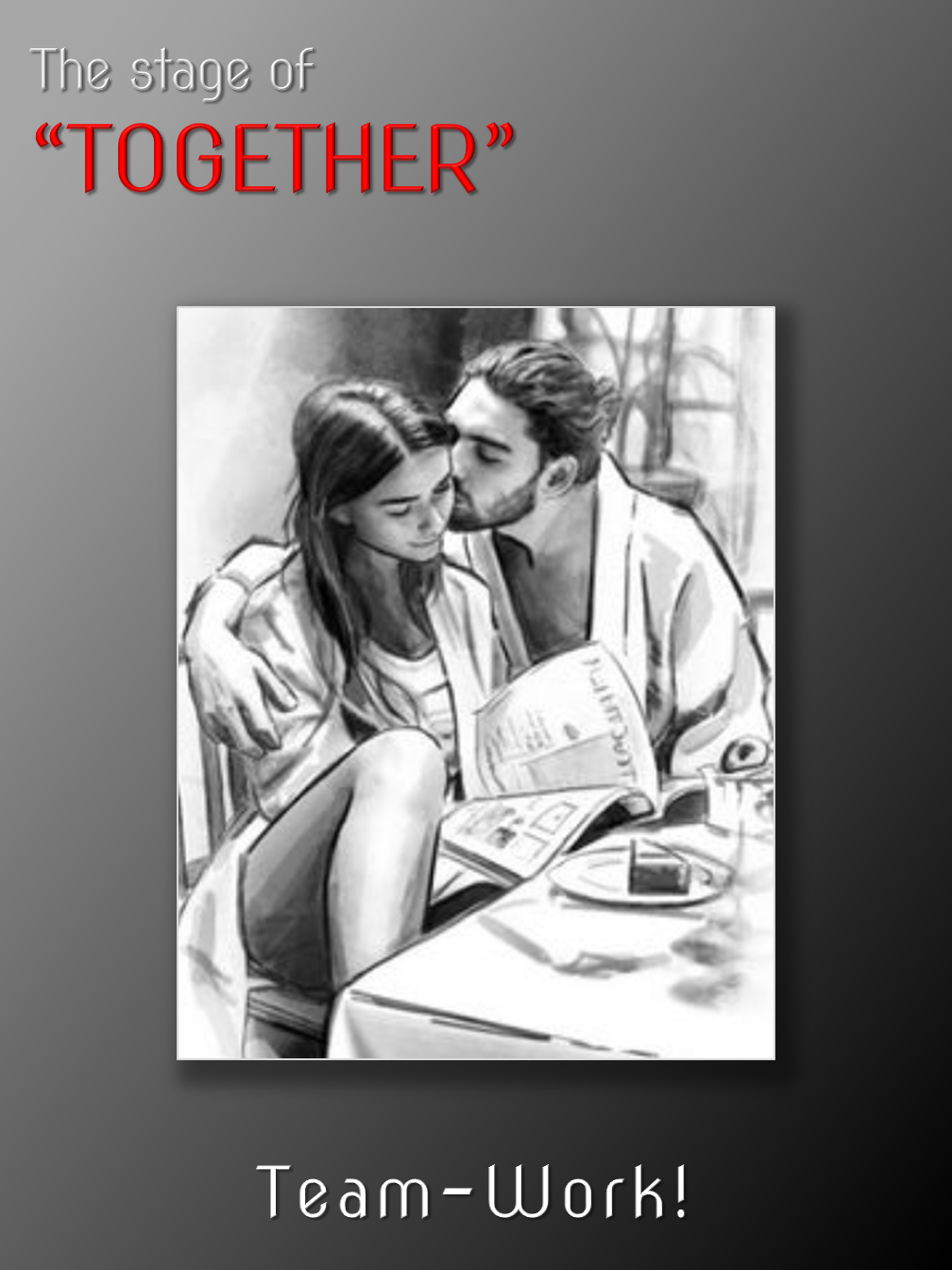 """The stage of """"TOGETHER"""""""