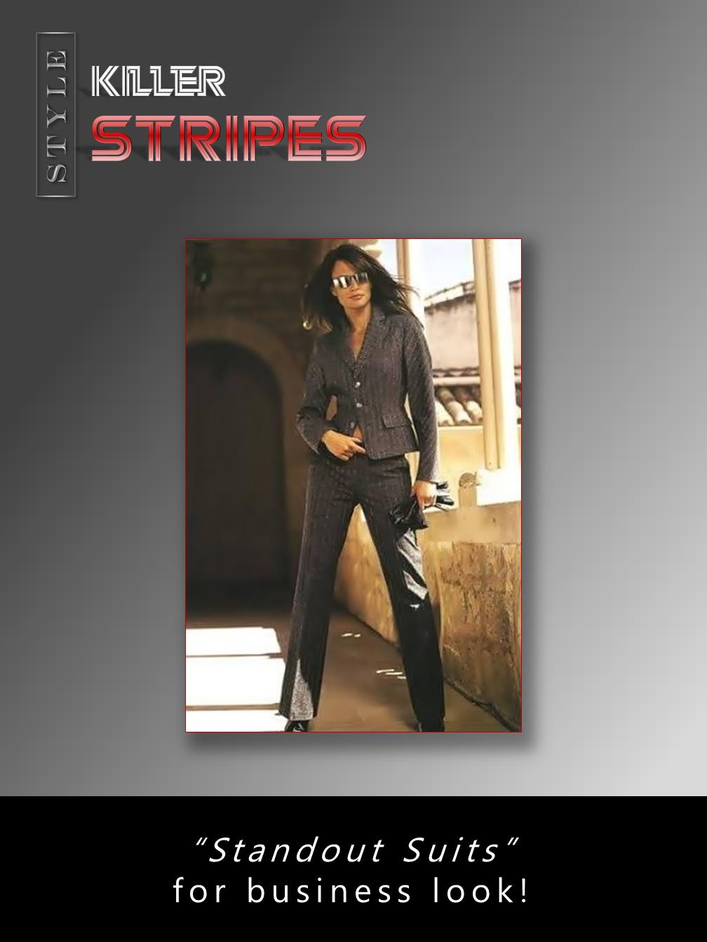 """""""Killer"""" Stripes"""