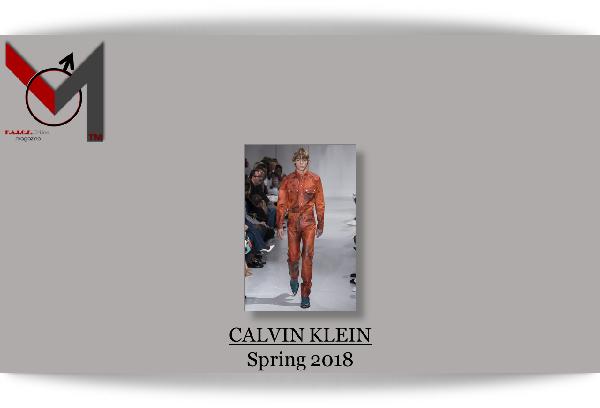 Calvin Klein - Spring 2018