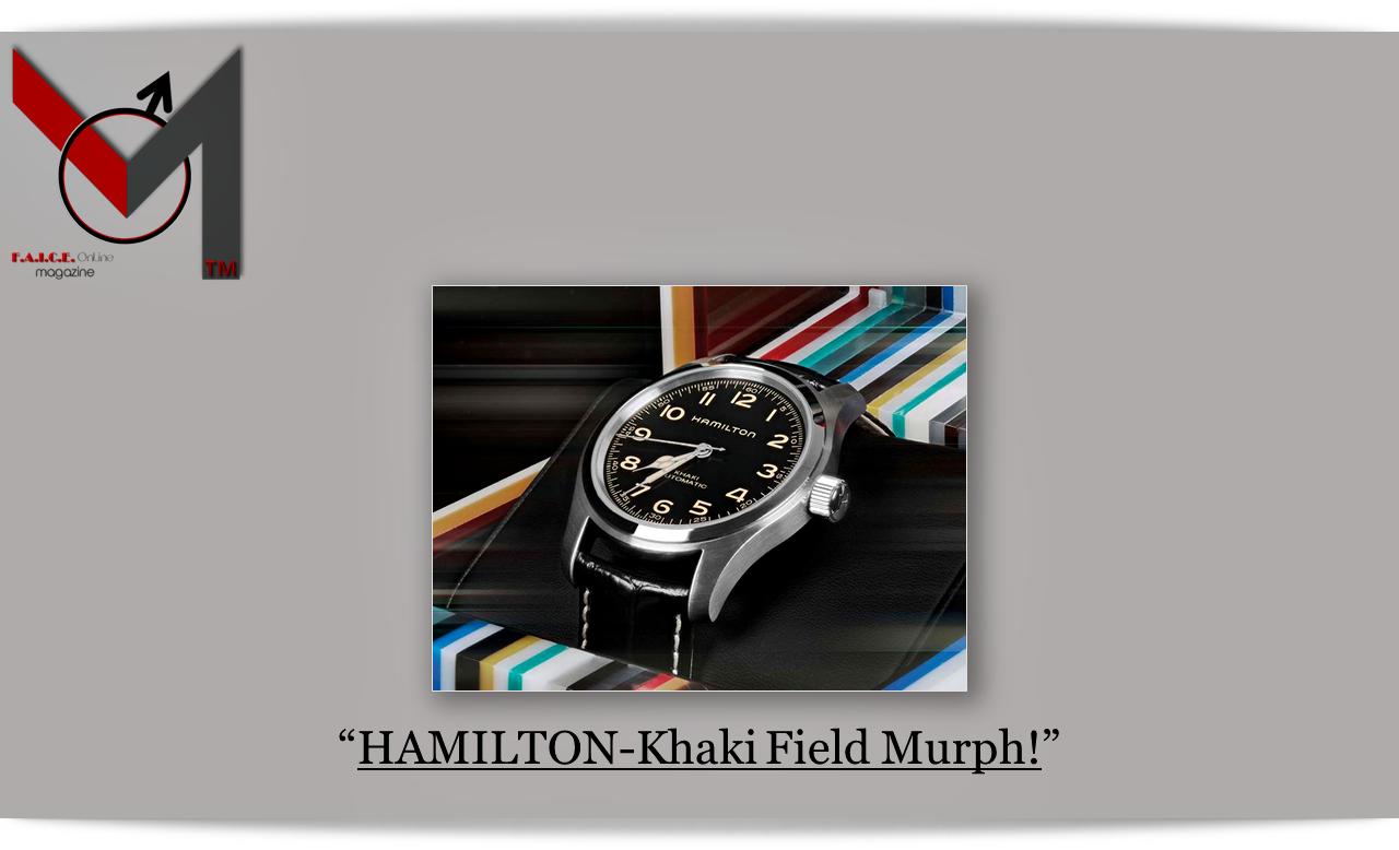 HAMILTON-Khaki Field Murph