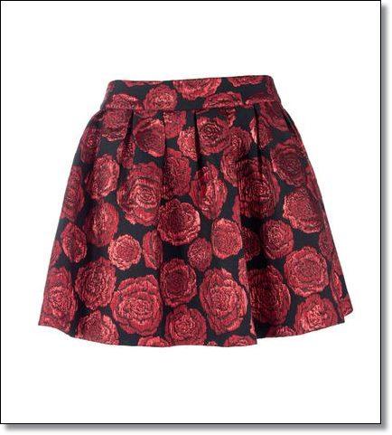 Floral skirt Silvian Heach