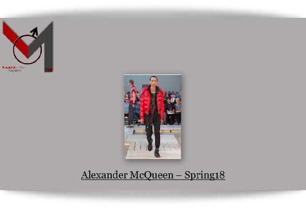 Alexander McQueen Spring 2018