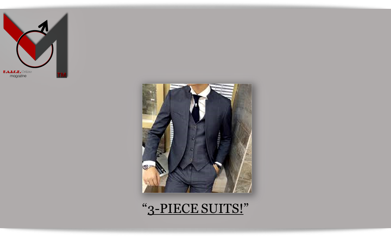 3-Piece Suits