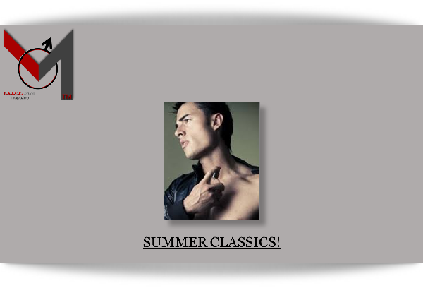 Summer Classics- Men's Fragrances