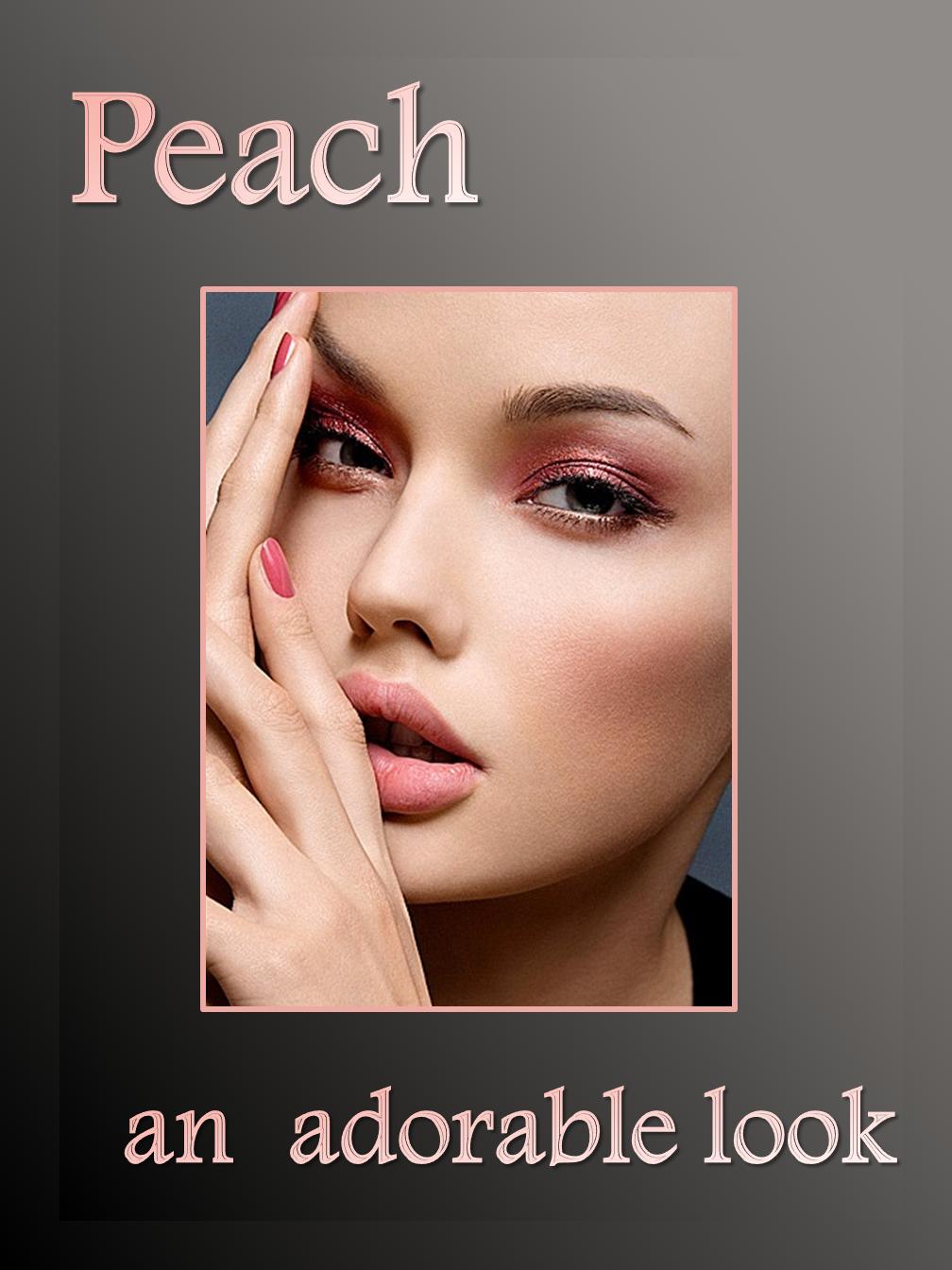 Peach Look