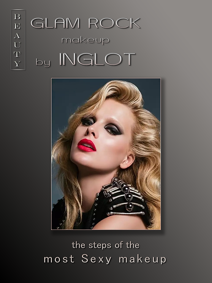GLAM ROCK makeup by INGLOT, Soul Therapy, Wellness, Spa, Aesthetics, Beauty