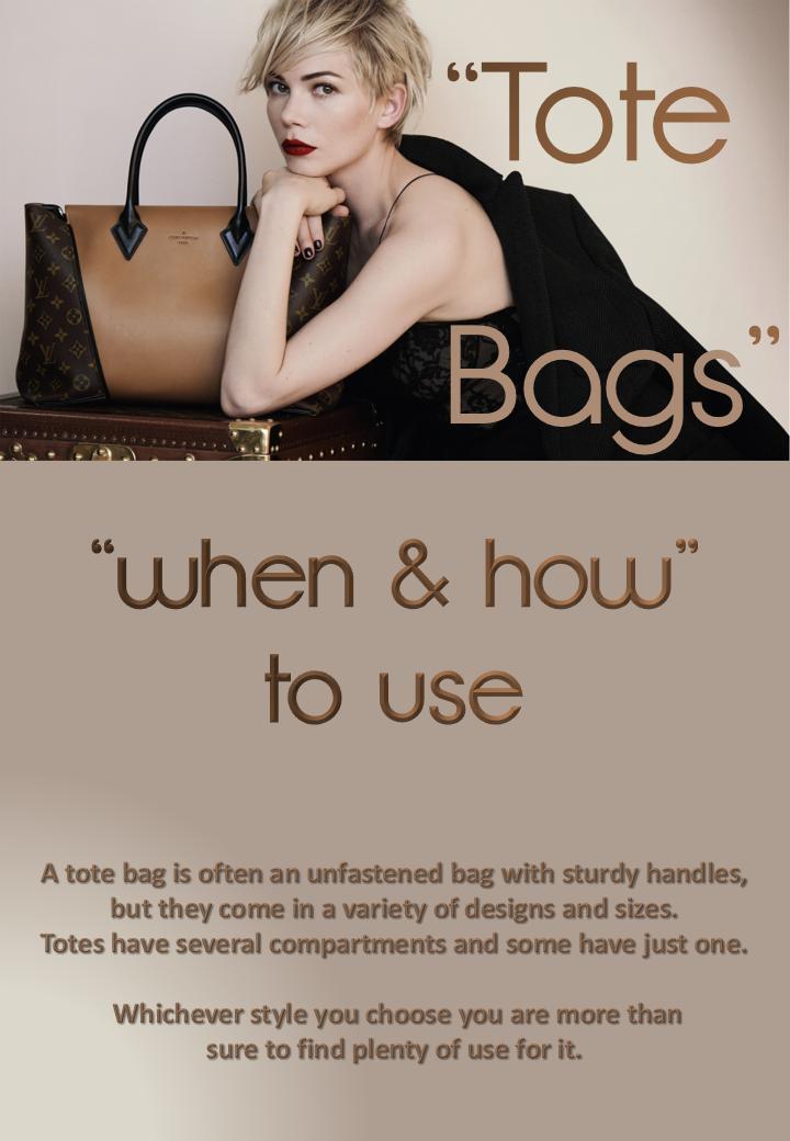 """TOTE"" Bags"