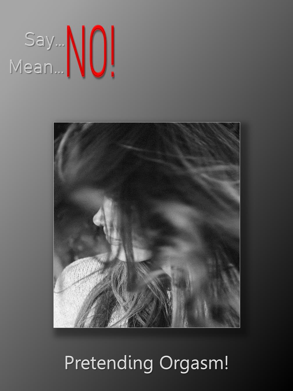 Say No-Mean No