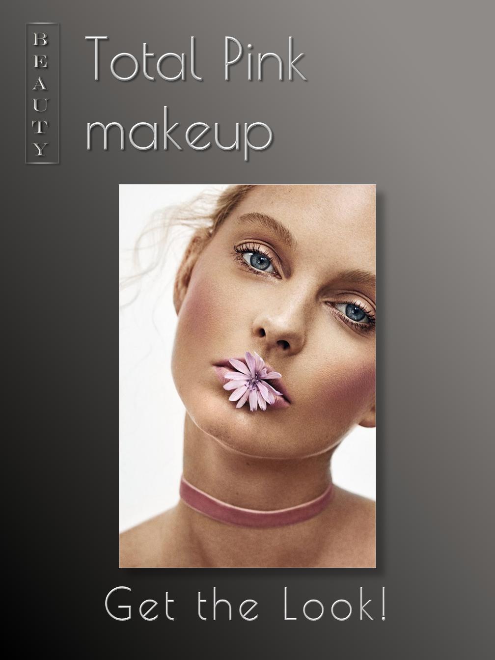 Total Pink makeup
