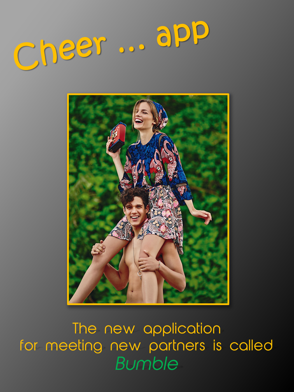 Cheer...app