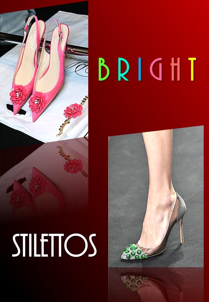 Bright Stilettos