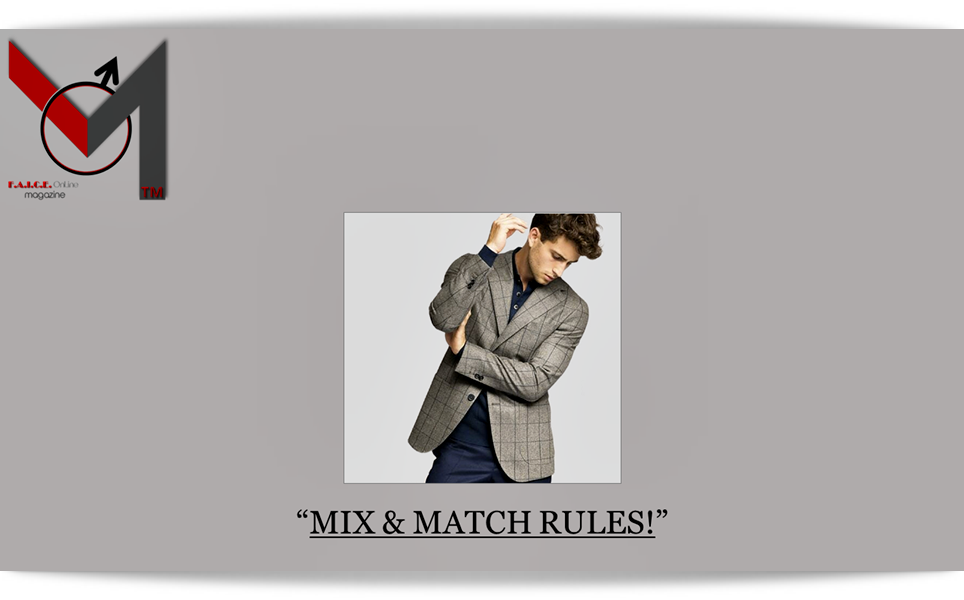 Mix & Match Rules