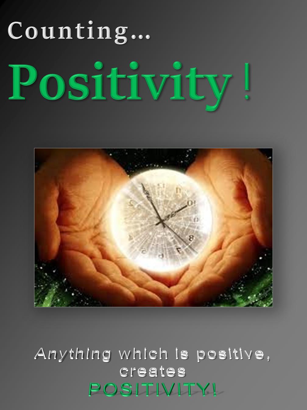Positivity !