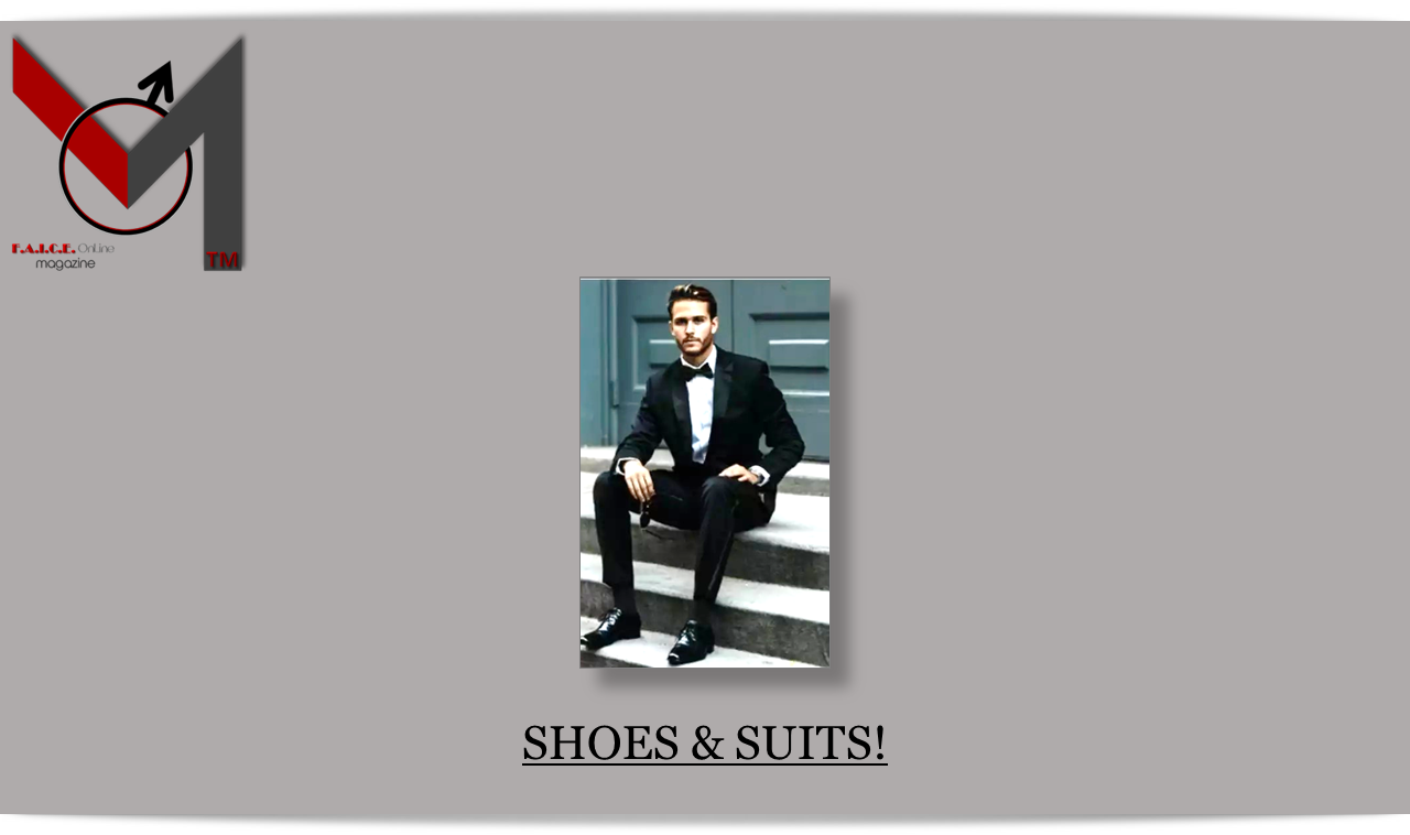 Shoes & Suits