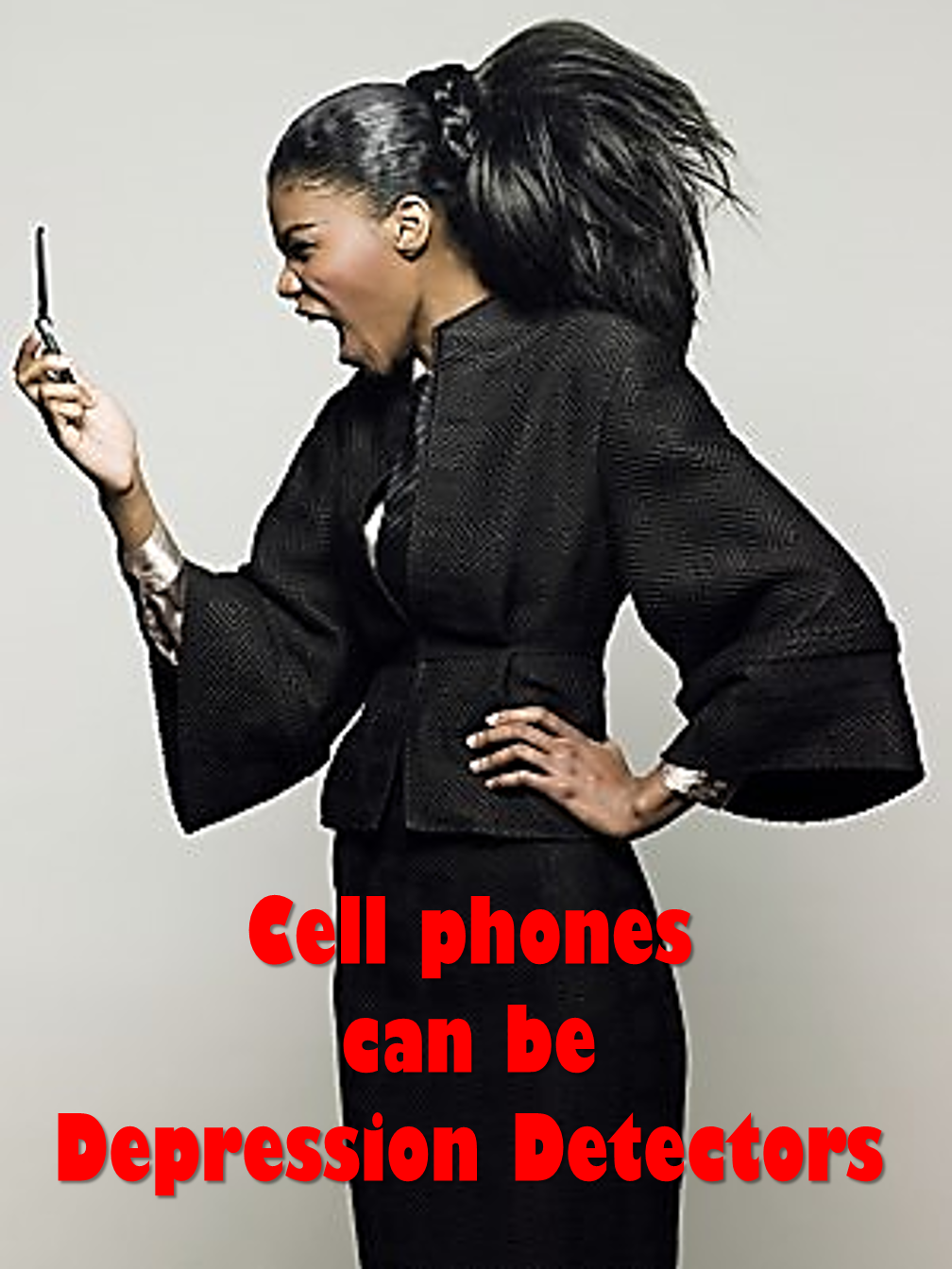 Cell phone detect Depression