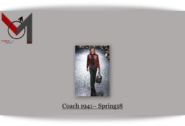 Coach 1941 Spring 2018