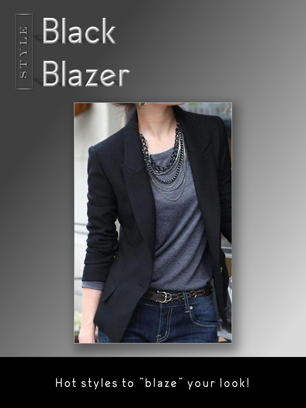 Black Blazers