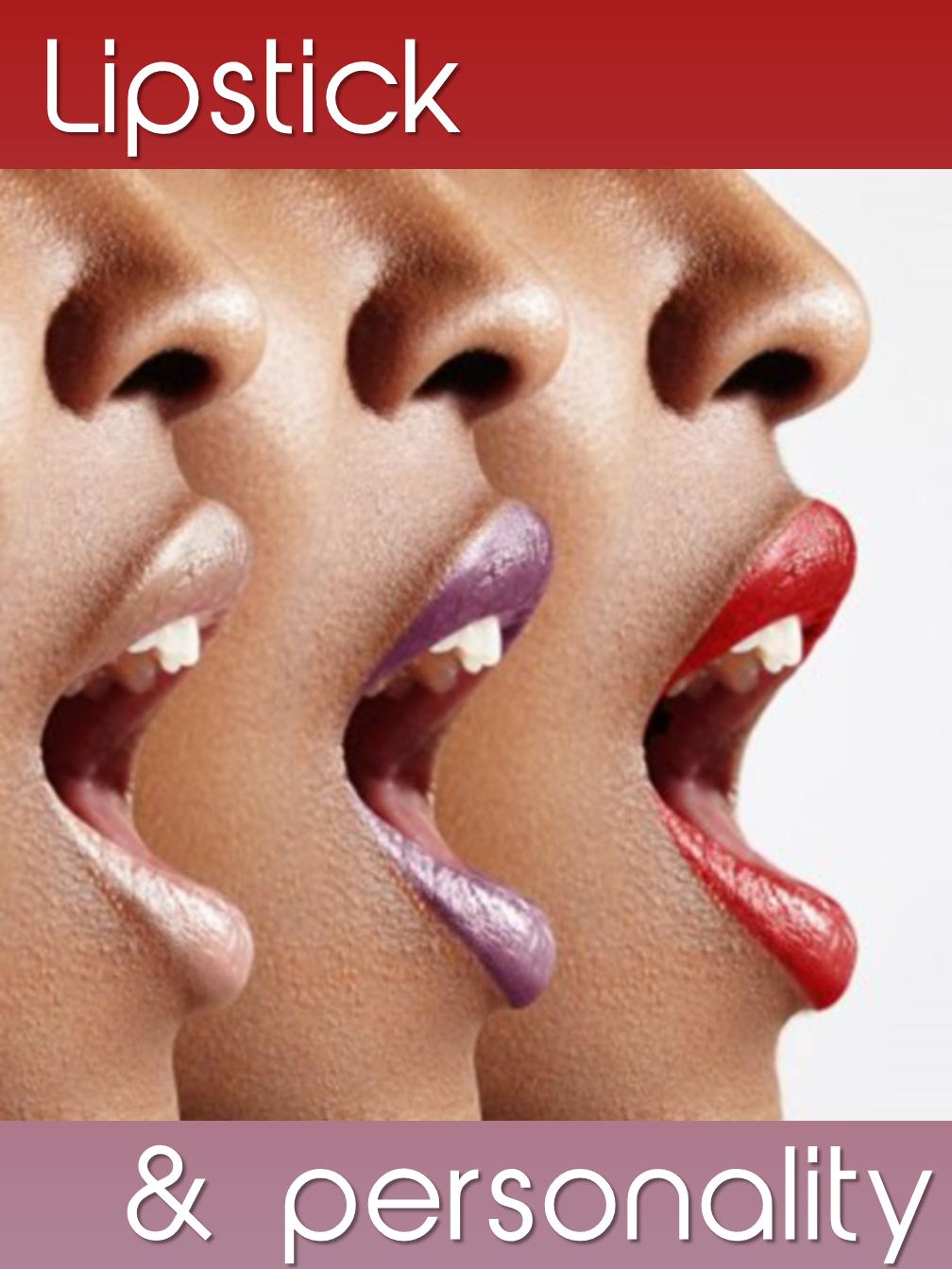 Lipstick & Personality