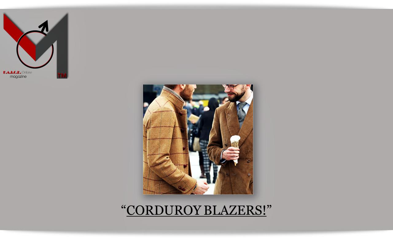 Corduroy Blazers
