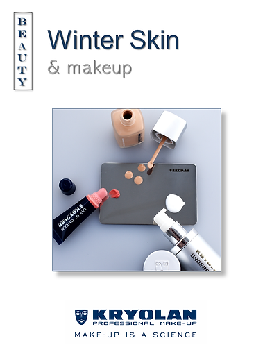 KRYOLAN, Winter Skin & makeup, Beauty Advice, Be a Front Cover Girl with KRYOLAN