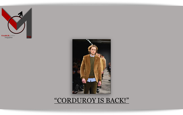 CORDUROY IS BACK!