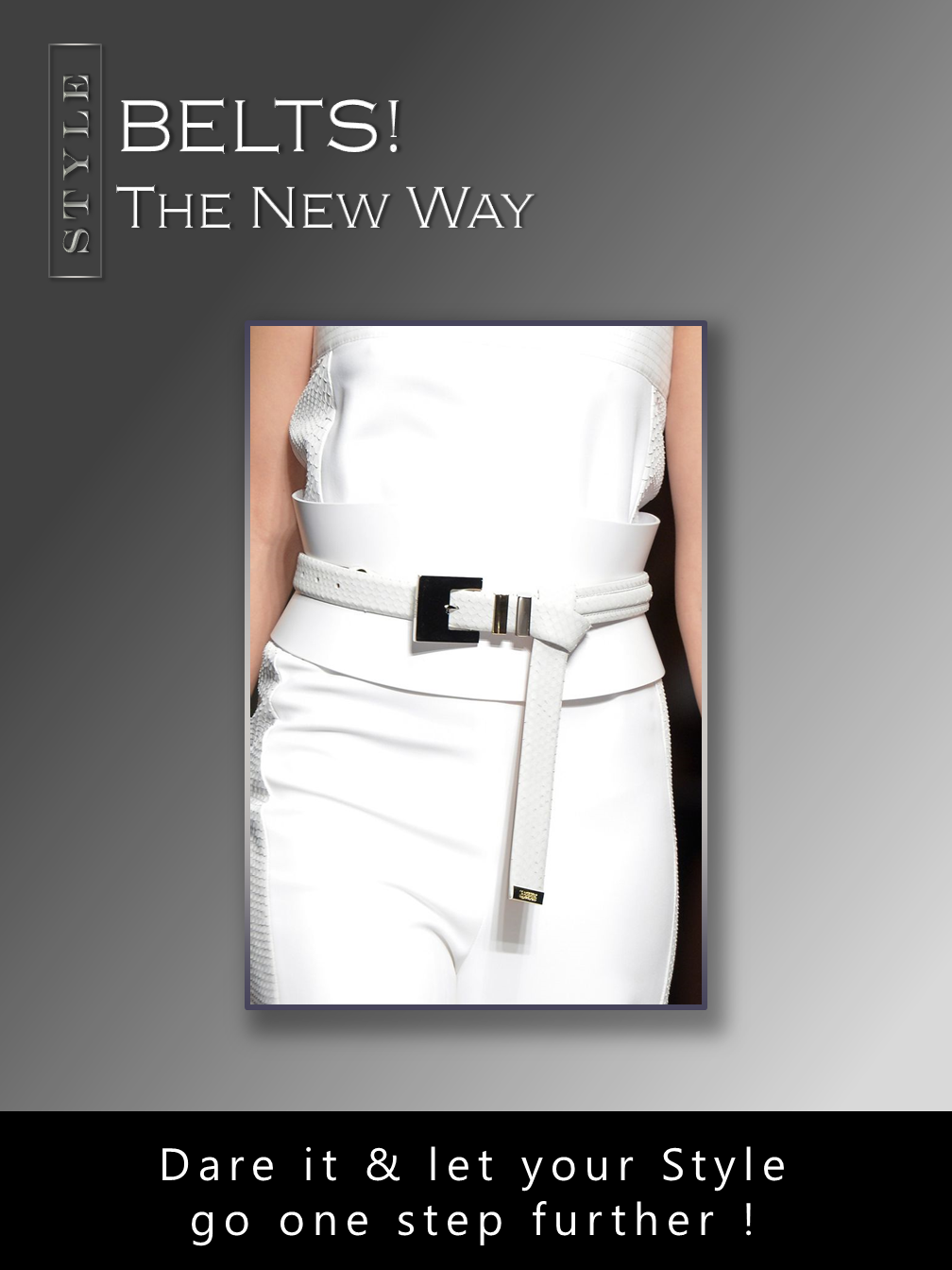 Belts: The New Way!