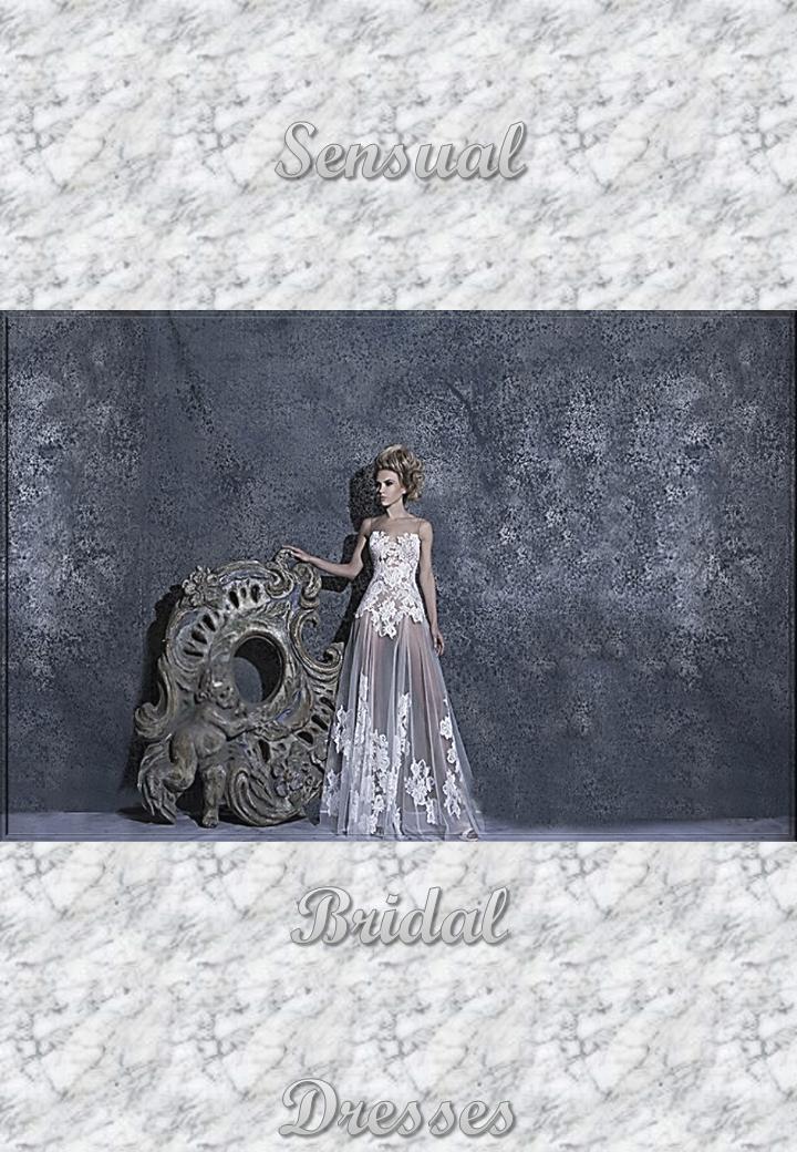 Sensual Bridal Dresses