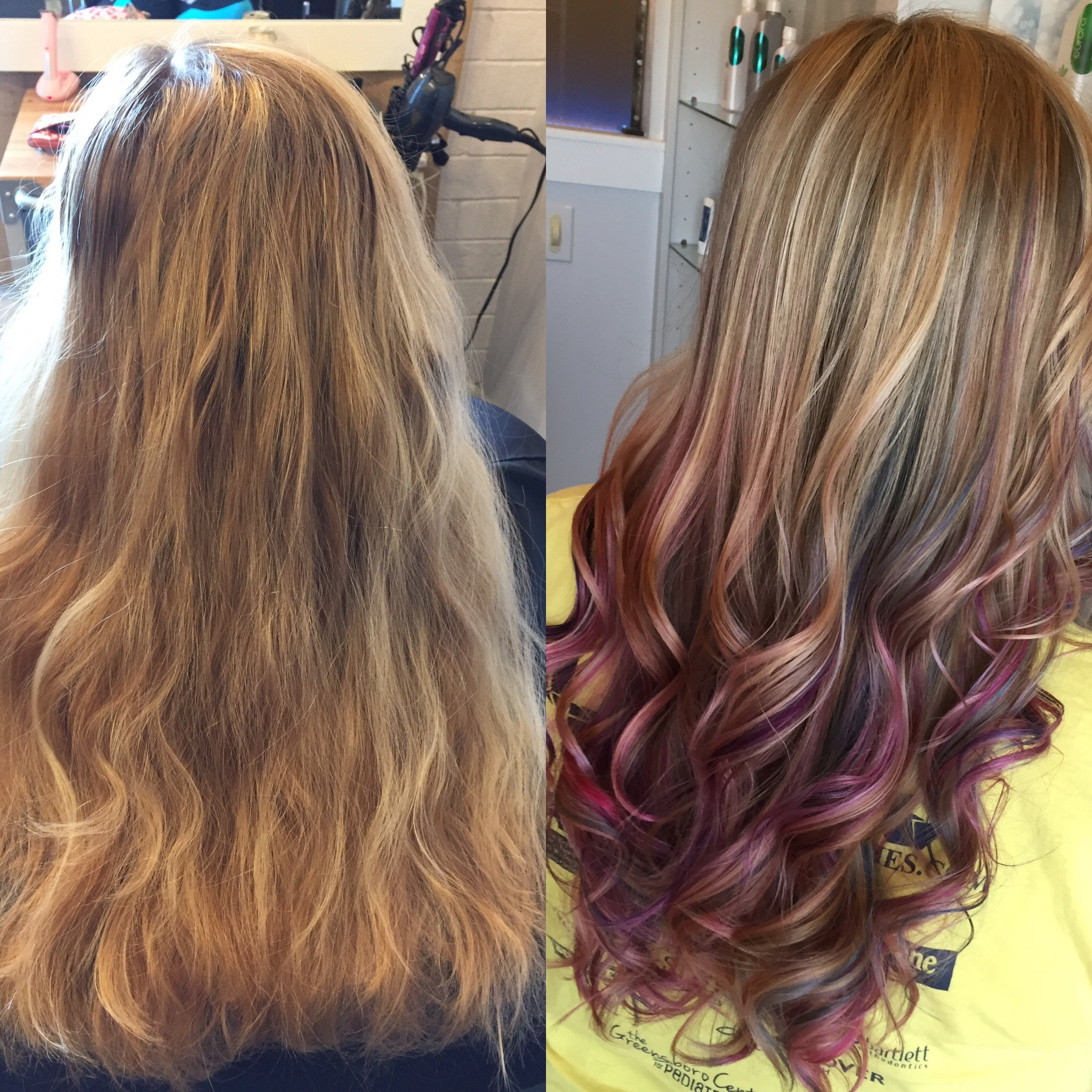 Color & Haircuts (Unicorn Hair)