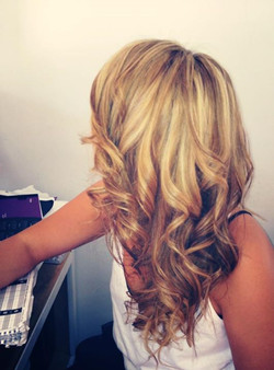 Another lighter blonde reverse ombre;) goo me goo me lol