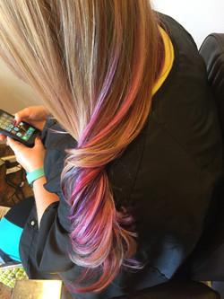 Color & Haircuts (Unicorn Hair)