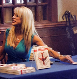 I did MayCay Beeler's color and hair extensions for her book signing tonight
