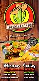 Menu Mexican Cactus