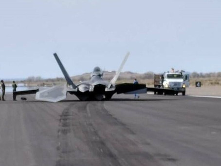 USAF Suffers Multiple Training Crashes