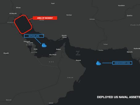 Iranian Fast Attack Craft Harass US Naval Vessels