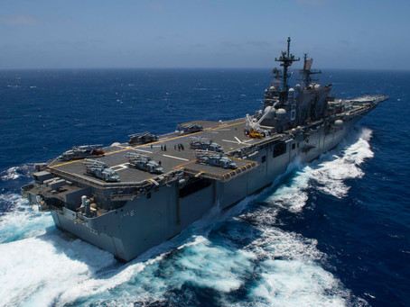 USS America, Expeditionary Strike Group Steam into the South China Sea