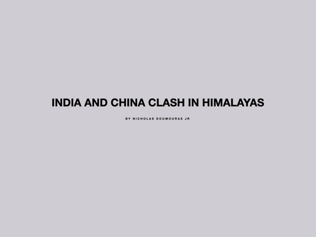 India and China Clash in Himalayas