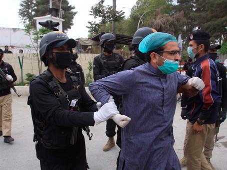 Pakistani Medical Professionals Arrested