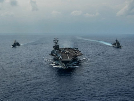 USS Ronald Reagan Back in the Fight