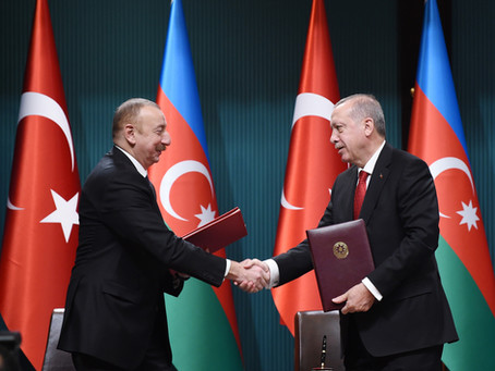 Turkey, Azerbaijan Announce New Gas Pipeline