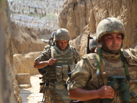 2020 Nagorno-Karabakh War Intensifies After Six Weeks