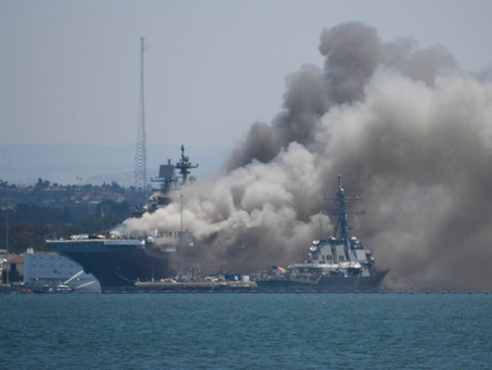 Impact of the Loss of the USS Bonhomme Richard
