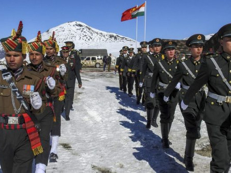Tensions Simmer on Chinese-Indian Border