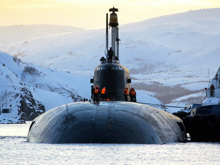 Crew of Russian Nuclear Submarine Quarantined