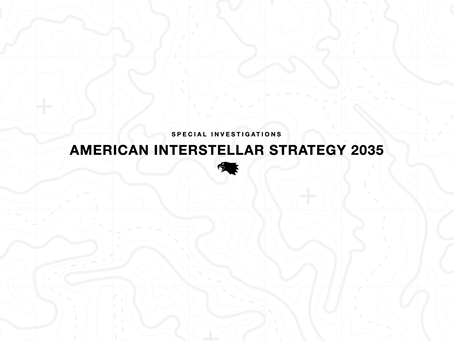 American Interstellar Strategy 2035